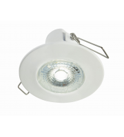 Collingwood H2 Lite 3000K Dimmable Fire Rated LED Downlight (Matt White)