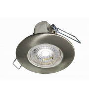 Collingwood H2 Lite 3000K Dimmable Fire Rated LED Downlight (Brushed Steel)