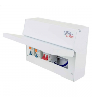 Cudis Metal Clad 8 Way Consumer Unit (White)