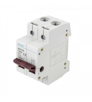 CPN Cudis 100A 2 Pole Isolator (White)