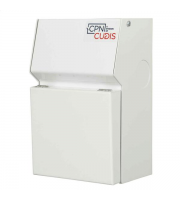 Cudis Metal Clad 6 Way Consumer Unit (White)