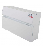Cudis Metal Clad 10 Way Consumer Unit (White)
