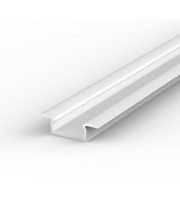 DTS White Recessed LED Profile 2M Length