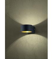 ELD Lacapo Matt Black Wall Light Led 4.5W