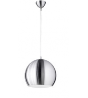 ELD Dome Satin Nickel Pendant Lamp - Max 60W (not Supplied) E27 Fitting