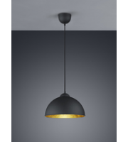 ELD Tanja Black And Copper Pendant E27 Max 60W Not Supplied,LED,Home,Office