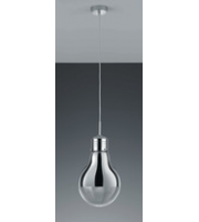 ELD Edison Pendant - Chrome/clear