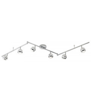 ELD 6 X Chrome Round Led Spot Lights - 6 X 3.8W Integrated