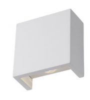 ELD Gypsum 2X3W Led Square Up/down W/light