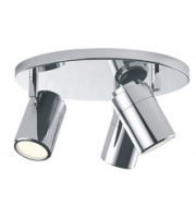 ELD IP44 Ceiling Light 3X GU10 Fittings,Indoor, Home, Bathroom