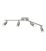 ELD Nimes Satin Nickel Spot Light - 4 X 2.5W Integrated
