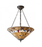 Endon Lighting Bernwood Large inverted 3lt pendant