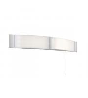Endon Lighting Onan 2lt Wall Opal pc & chrome acrylic Non-dimmable