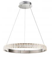 Endon Lighting Celeste 1lt Pendant Chrome plate & clear crystal Dimmable