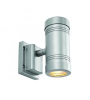 Endon Lighting Gigo 2lt Wall Aluminium & clear glass Non-dimmable