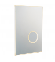 Endon Lighting Tec 2 1lt Wall Mirrored glass & silver paint Non-dimmable