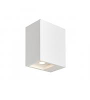Endon Lighting Tor 2lt Wall White plaster Non-dimmable