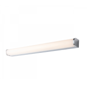 Endon Lighting Salano 1lt Wall Chrome plate & opal pc Non-dimmable