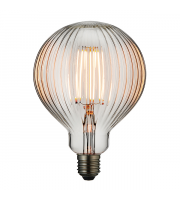 Endon Lighting Ribb 1lt Accessory Clear glass Non-dimmable