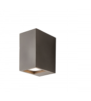 Endon Lighting Tor 2lt Wall Grey concrete Non-dimmable