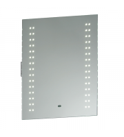 Endon Lighting Pearl 60lt Wall Mirrored glass & matt silver paint Non-dimmable
