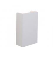 Endon Lighting Morley 2lt Wall White plaster Non-dimmable