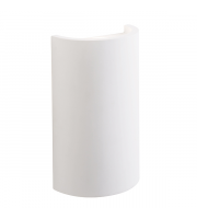 Endon Lighting Arch 2lt Wall White plaster Non-dimmable