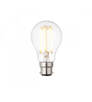Endon Lighting B22 LED filament GLS 1lt Accessory Clear glass Dimmable