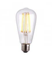 Endon Lighting E27 LED filament pear 1lt Accessory Clear glass Dimmable