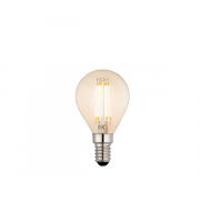 Endon Lighting E14 LED filament golf 1lt Accessory Amber glass Dimmable