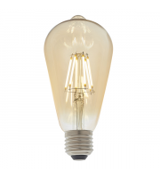 Endon Lighting E27 LED filament pear 1lt Accessory Amber glass Dimmable