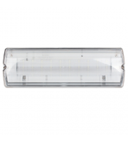 ESP Duceri 3W LED IP65 Maintained/ Non-Maintained Emergency Bulkhead (Clear)