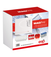 ESP 2 Zone Conventional Fire Alarm Kit (White)