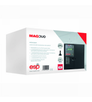 ESP MAGDUO 2 Wire Control Panel 2 Zone Kit (Black)