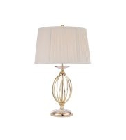 Elstead Aegean 1 Light Table Lamp (Polished Brass)