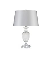 Elstead Antonia 1 Light Table Lamp (Clear)