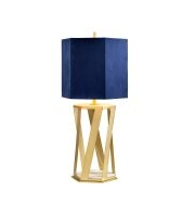 Elstead Apollo 1 Light Table Lamp (Brushed Brass)