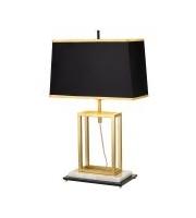 Elstead Atlas 1 Light Table Lamp (Brushed Brass)
