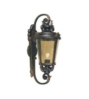 Elstead Baltimore 1 Light Large Wall Lantern (Weathered Bronze)