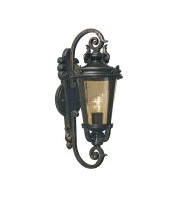 Elstead Baltimore 1 Light Medium Wall Lantern (Weathered Bronze)