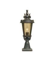 Elstead Baltimore 1 Light Medium Pedestal Lantern (Weathered Bronze)