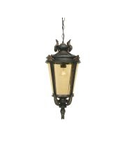 Elstead Baltimore 1 Light Large Chain Lantern (Weathered Bronze)