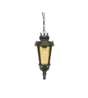 Elstead Baltimore 1 Light Medium Chain Lantern (Weathered Bronze)