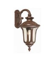 Elstead Chicago 1 Light Medium Down Wall Lantern (Rusty Bronze Patina)