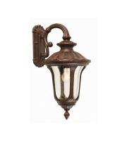Elstead Chicago 1 Light Small Down Wall Lantern (Rusty Bronze Patina)