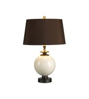 Clara 1 Light Table Lamp (Cream)
