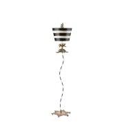 Elstead South Beach 1 Light Floor Lamp (Gold/Black)