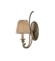 Elstead Abbey 1 Light Wall Light (Silver Sand)