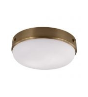 Elstead Cadence 2 Light Flush Mount (Dark Antique Brass)