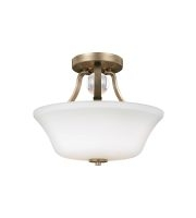 Elstead Evington 2 Light Semi-Flush (Sunset Gold)